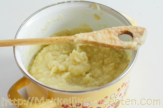 Pastinaakpuree zonder aardappelen