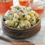 Aardappelsalade Jamie Oliver